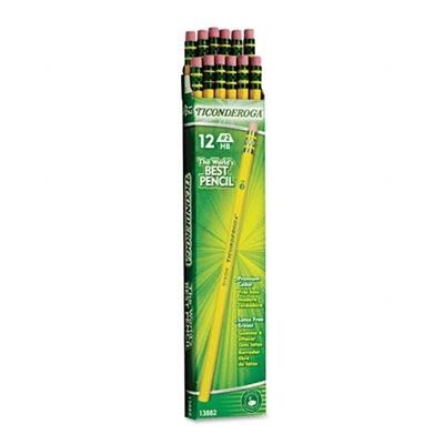 Pencils, #2, Ticonderoga, Unsharpened, Dz.